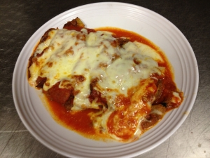 Sal's Pizzeria and Catering of Sayville NY, Eggplant Parmigiana Catering Party